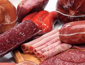 Imagem de carnes processadas