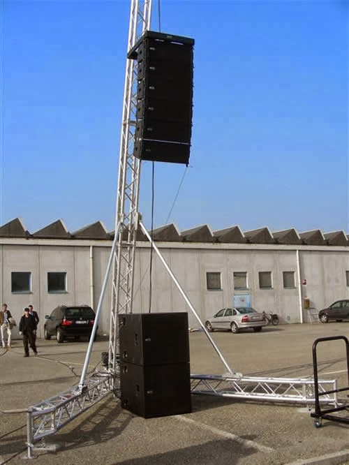 Illific World Rcf World Class Line Array Speakers Rental