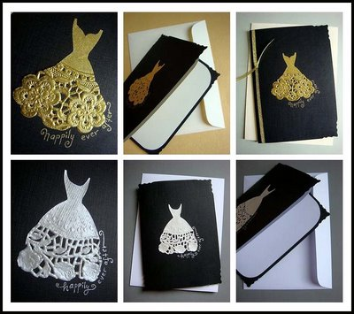 Hand  Wedding Cards on Handmade Wedding Card