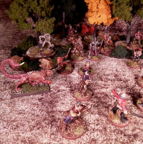 The Blood Tears Sacrifice from Kor-Zakir attacks the Wychwood