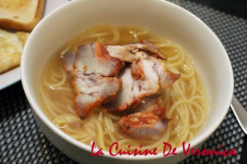 La Cuisine De Veronica 叉燒湯意粉