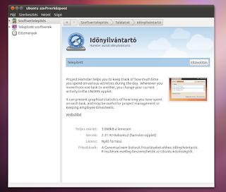 Ubuntu időnyilvantartó