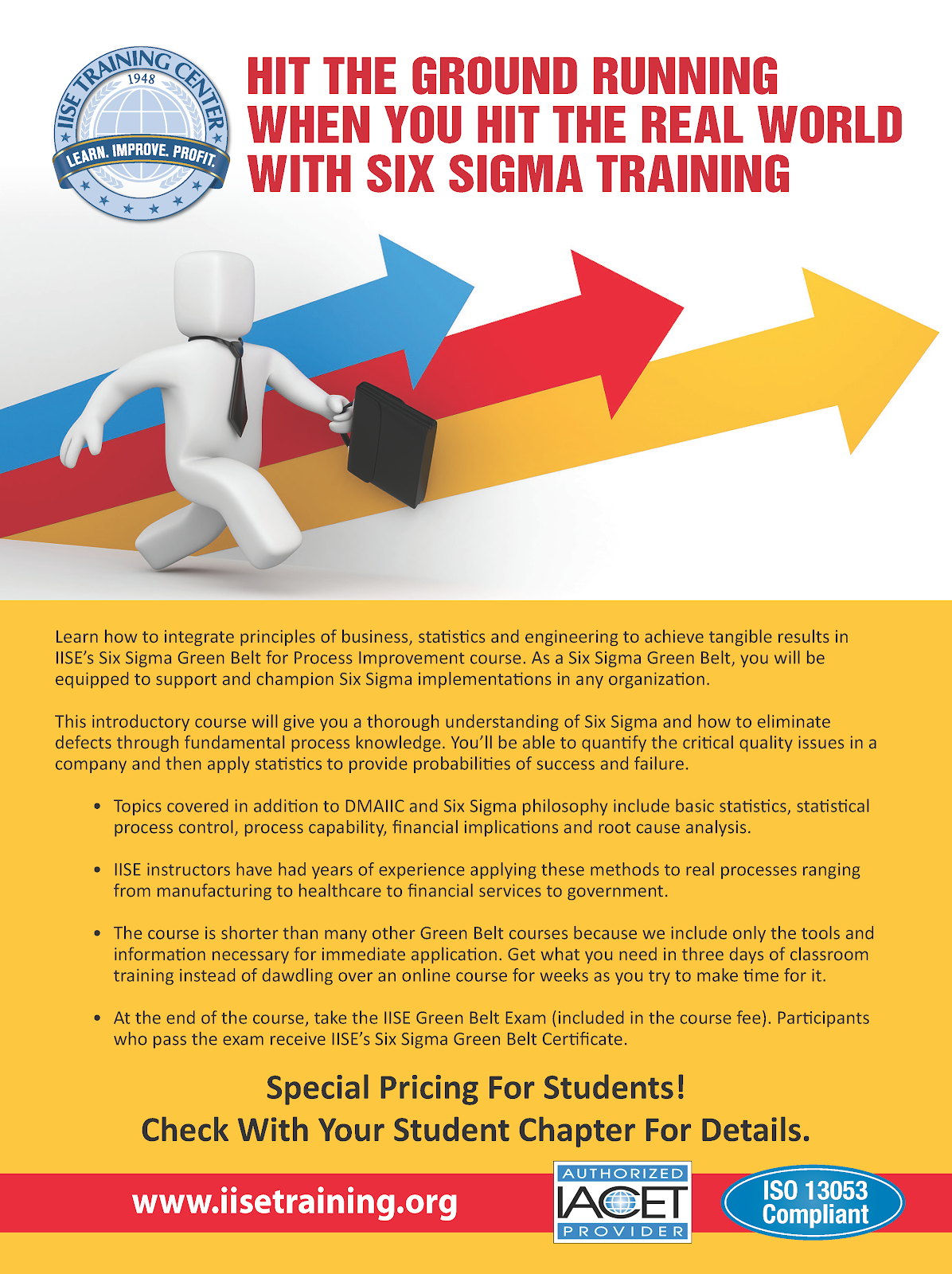 Iise Six Sigma Green Belt Certification Purdue Ie Undergrad News