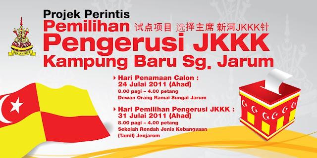 Design Banner Pilihanraya Murah