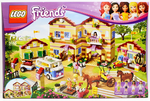 My Favourite Lego Friends New Set 3185 Summer Riding Camp