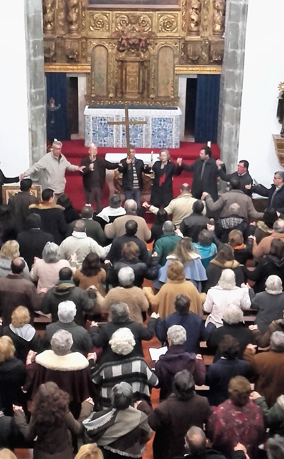 """Momento de """"Graça e reflexão do MCC da Arquidiocese de Évora"""""""