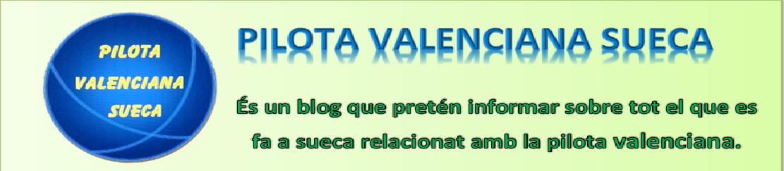 PILOTA VALENCIANA SUECA