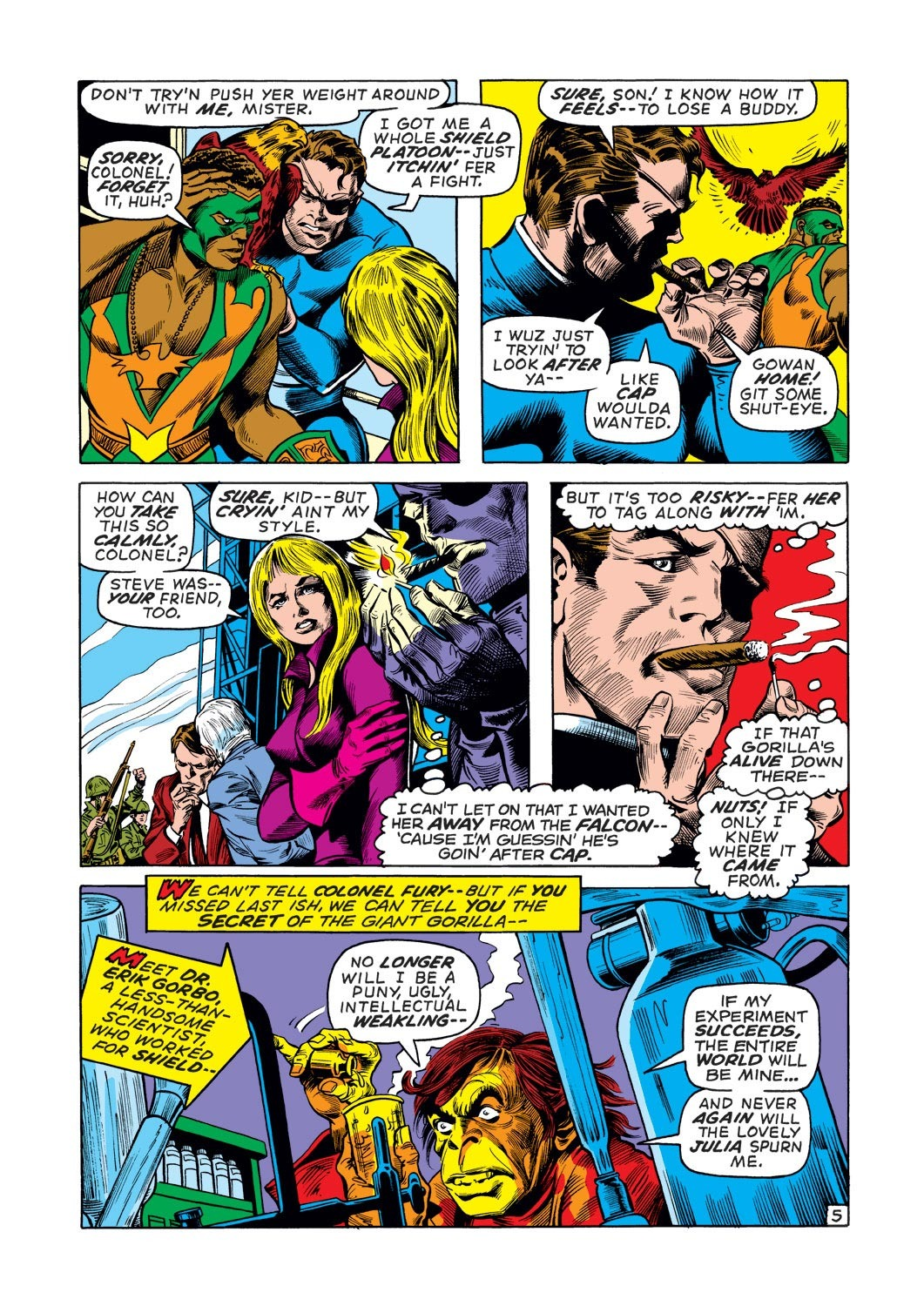 Captain America (1968) Issue #136 #50 - English 6