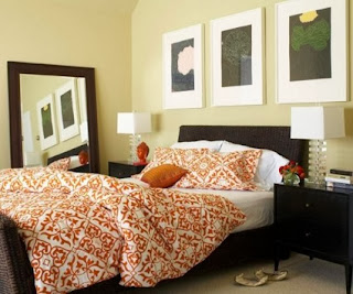 Rooms inspired by the fall