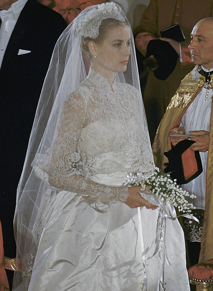 lady in red : vestido de novia que grace kelly