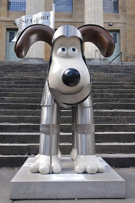 Sir Gromit of Bristol (front view)