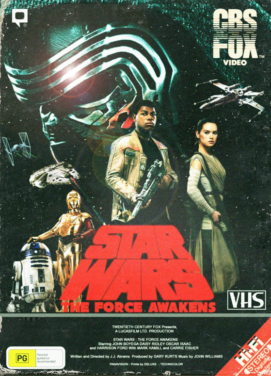 force awakens vhs