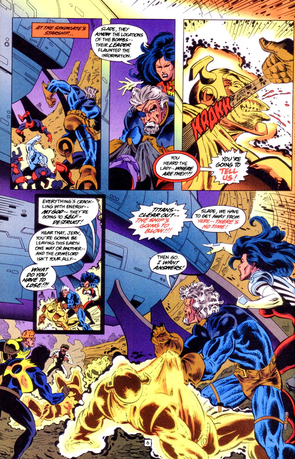 Deathstroke (1991) Issue #49 #54 - English 7