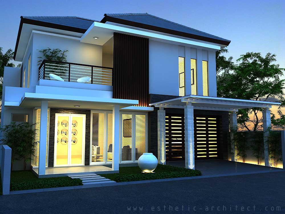 ide rumah minimalis type 120 2 lantai  bagus