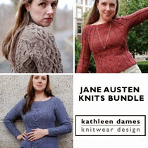 Jane Austen Knits bundle from Kathleen Dames