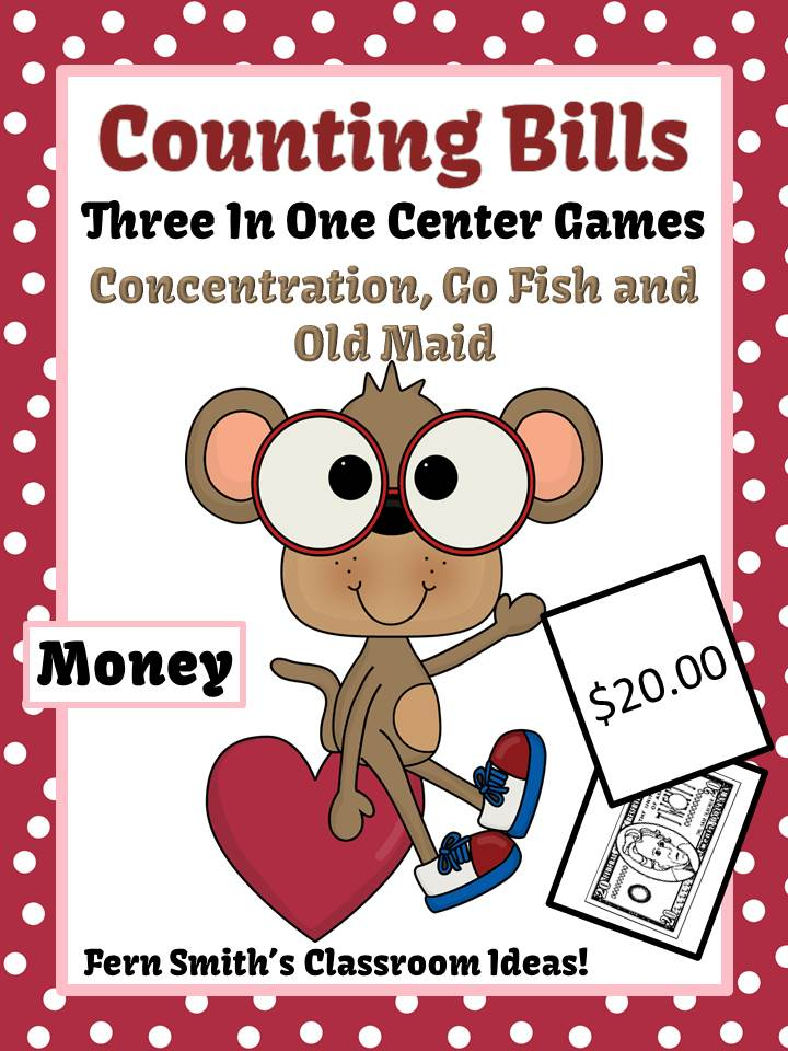 http://www.teacherspayteachers.com/Product/Valentines-Day-Money-Bills-Only-Center-Games-Interactive-Notebook-Activities-1025403
