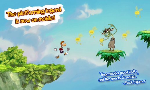 Rayman Jungle Run + Data Android APK Full Version Pro Free Download