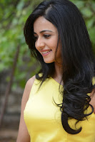 Rakul Preeth Singh Yellow Dress Stills