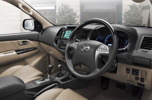 2016 Toyota Fortuner Interior