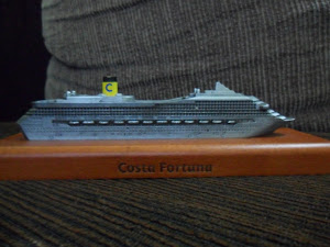Maquete do Costa Fortuna