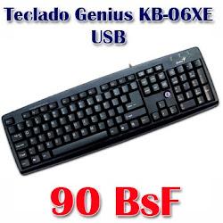 Teclado Genius KB-06XE  USB