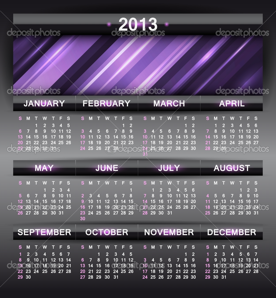Latest Calendar Design : Latest calendar designs for new year on january