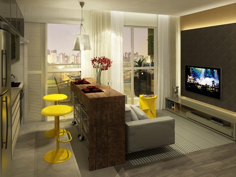 Inspira es visite o decorado lar mini lar for Sala de estar 12m2