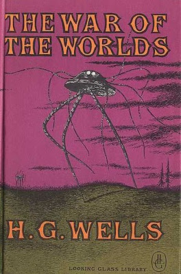 portada del libro the war of the worlds