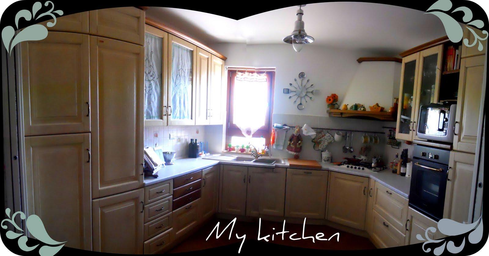 Apple pie and shabby style la mia cucina - Cucina a ferro di cavallo ...