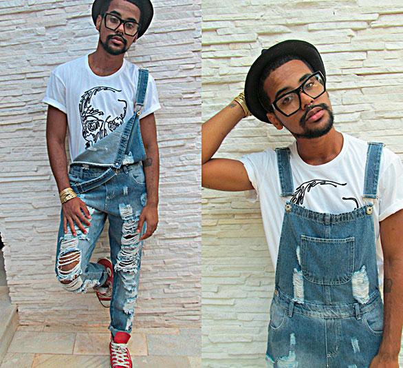 Moda masculina macac o jeans blog da jeh for Jardineira masculina c a