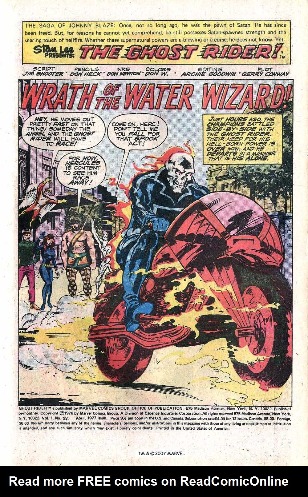 Ghost Rider (1973) Issue #23 #23 - English 3
