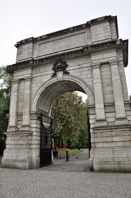 Irland 2014 - Tag 7 | Dublin | St. Stephen's Green