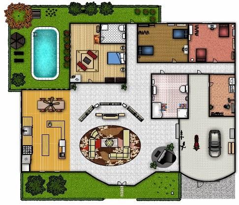 Floor Plan (My Dream House)