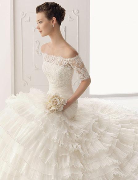 Vestidos de novia glamurosos
