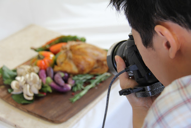 Food Styling and Photography - Ratatouille in the Making
