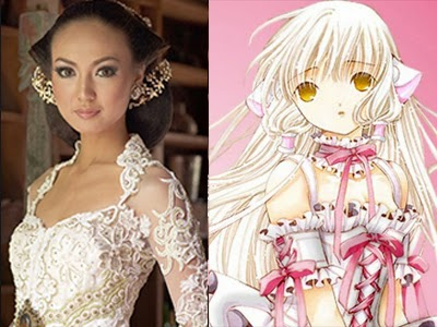 chobits & bride story