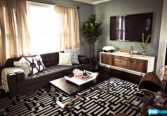 Fashion affairs interior divine living rooms for Jeff lewis living room designs
