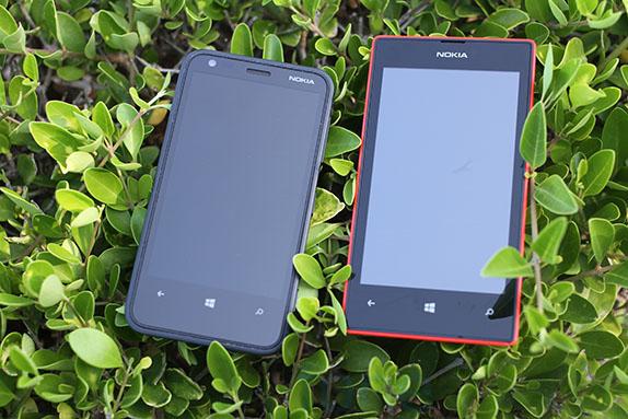 качество экрана у Lumia 620 лучше