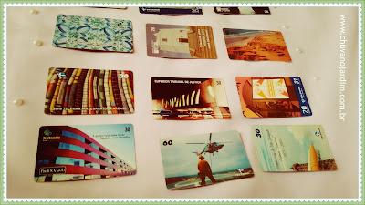 coleção cartões de orelhão
