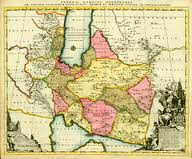 در سال 1705 میلادی نقشه مستقل بلوچستان