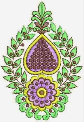 elegante borduurwerk handwerk appliekwerk