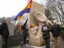 Homenaje a los republicanos españoles