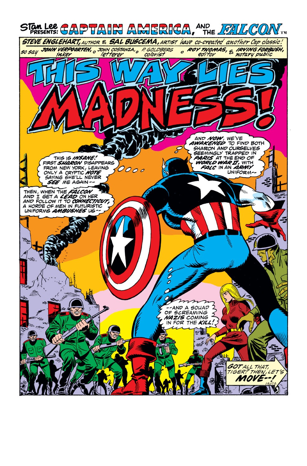 Captain America (1968) Issue #162 #76 - English 2