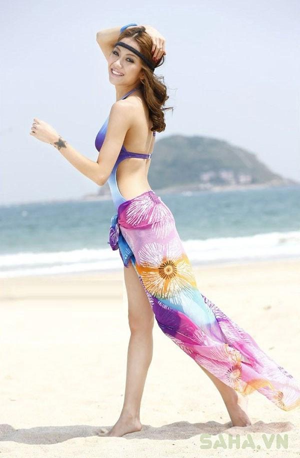 khăn voan đi biển 2730