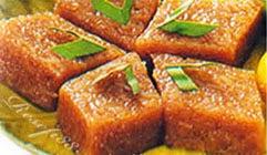 resep praktis dan mudah membuat (memasak) makanan tradisional kue wajik ketan gula merah enak, lezat