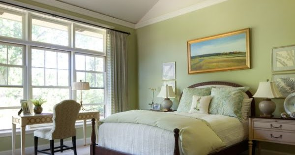 Dormitorios con paredes verdes dormitorios con estilo for Dormitorio verde agua