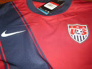 Authentic USA Soccer National Team 2011, 3rd Jersey Size: XL