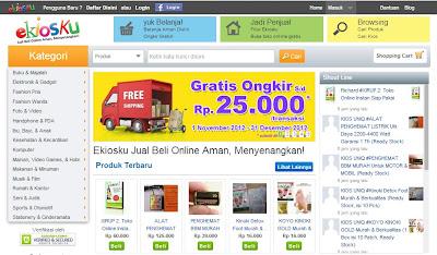 Ekiosku.com jual beli online aman dan menyenangkan