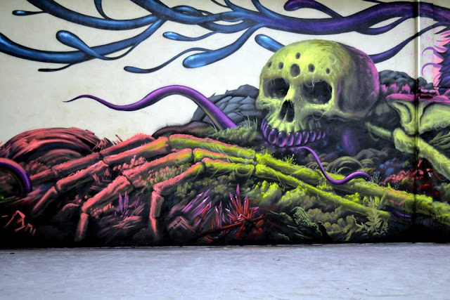 Street Art Collaboration By Jeff Soto And Maxx242 For Goodbye Monopol 2 In Luxembourg City. 5
