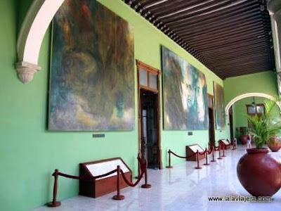 Murales Fernando Castro Pacheco Palacio Gobierno Merida